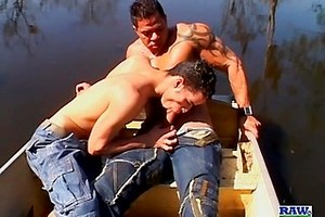 Junior & Yuri Fuck Raw Outside - Junior Pavanelo & Yuri Prado
